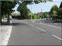 SZ1394 : Junction of River Way and Old Barn Road by Mike Smith