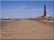 SD3036 : North Pier, Blackpool and Tower by Rib