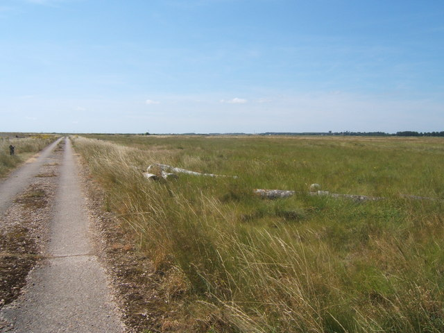 Track on Orford Ness
