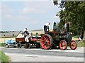 SU0050 : Steam traction engine, Gore Cross, Wiltshire by Brian Robert Marshall