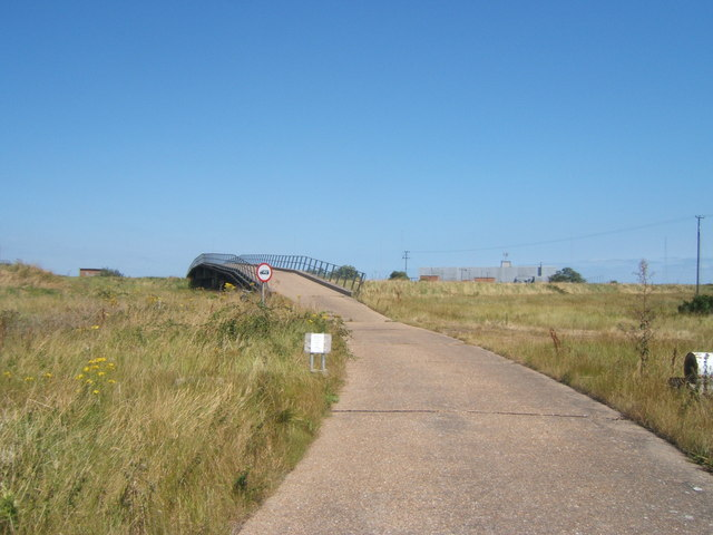 Pig Pail Bridge, Orford Ness