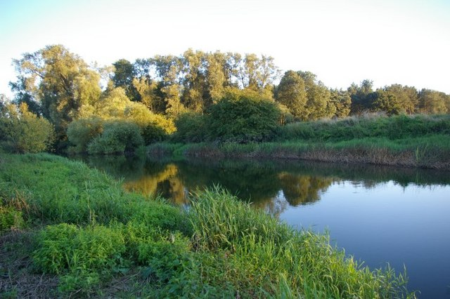 Evening view across the River Great Ouse