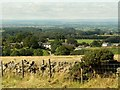 NY5558 : Farlam from viewpoint above the village by Rose and Trev Clough