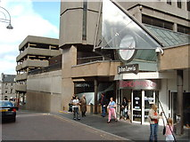 NT2574 : An entrance to the St. James Shopping Centre by Darrin Antrobus