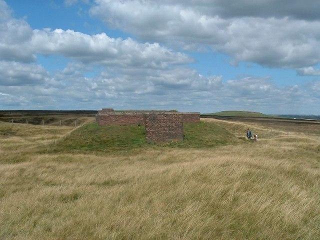 World War II Starfish Site control bunker.