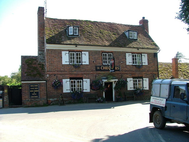 The Chequers public house, Fingest