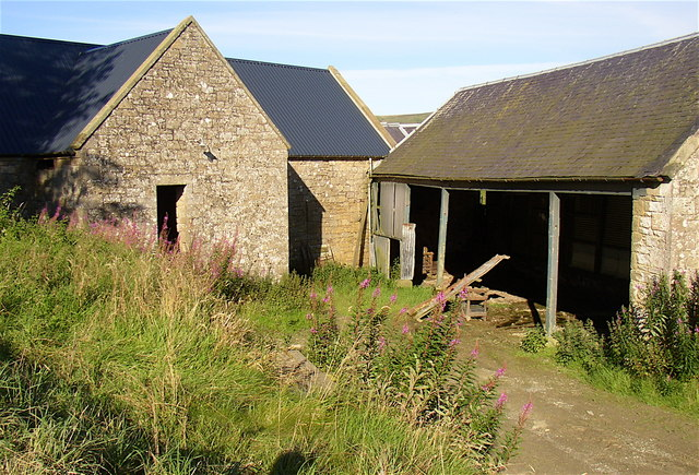Farm buildings at Upper Hindhope