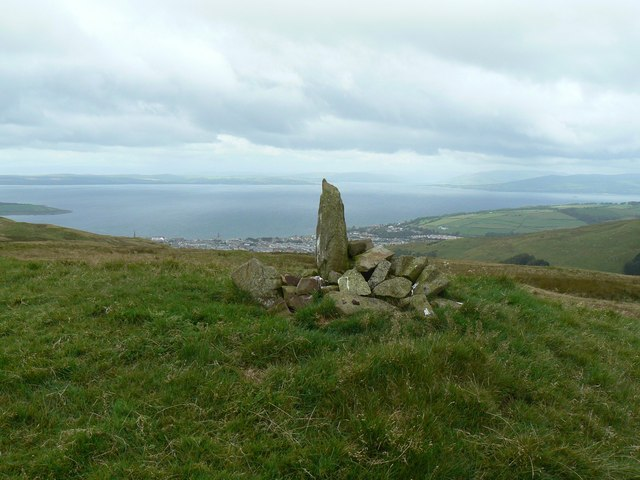 Small Cairn above Largs