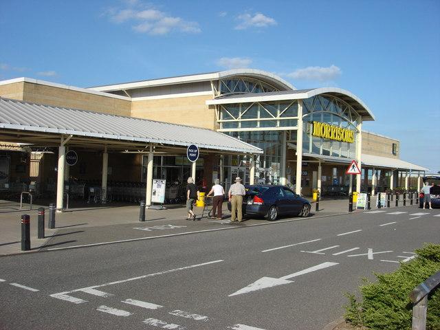 Morrisons supermarket, Harwich