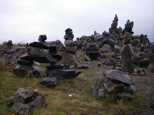 Inukshuk in Western Scotland?