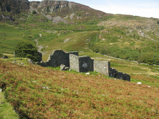 Mills which produced 1392 ozs of Welsh Gold