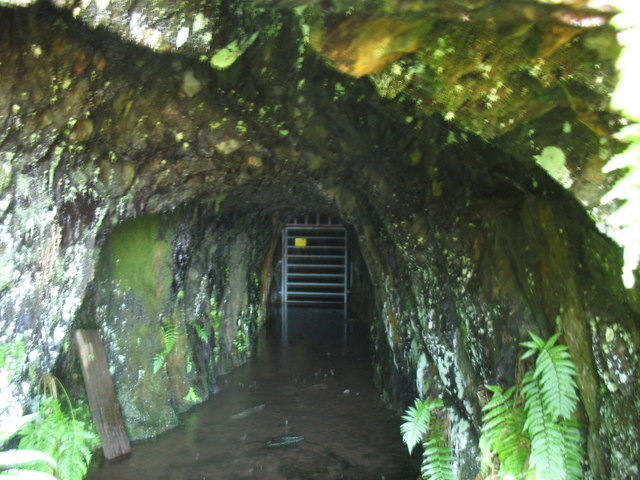 Inside Cefn Coch  Gold Mine