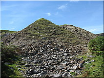 SH7123 : Spoil tips at Cefn Coch mine by Eric Jones