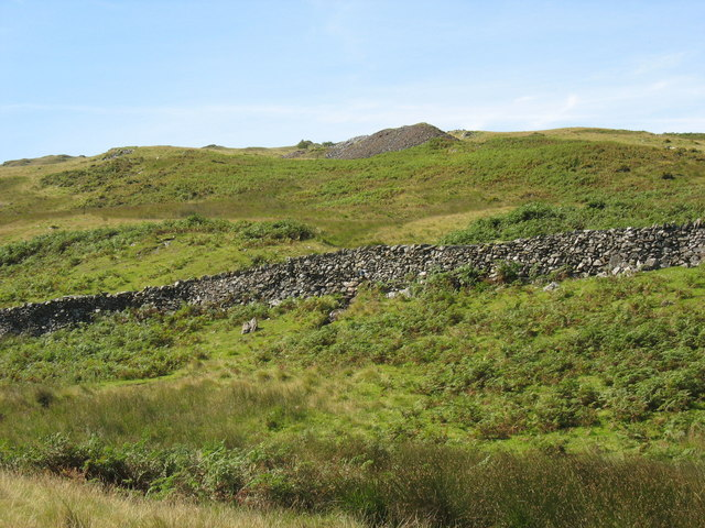 A trial working on the ridge