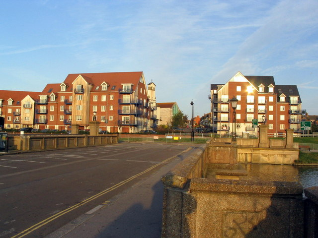 Flats near Weymouth Harbour