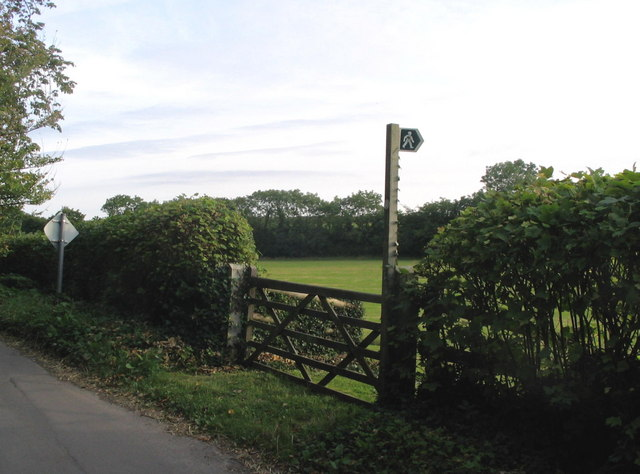 Footpath near Fleet village