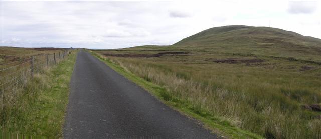 Road near Slieve Gallion