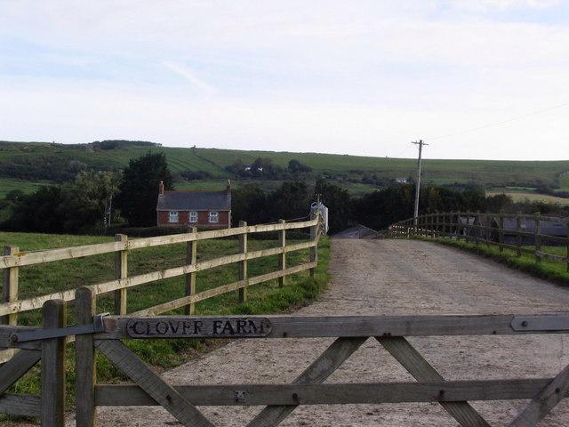 Entrance to Clover Farm
