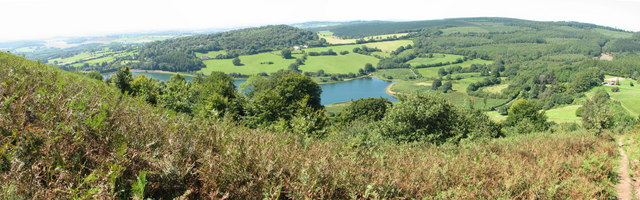 Wentwood Reservoir from Gray Hill