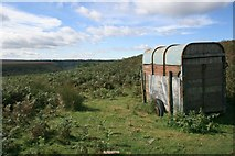 SE8497 : Abandoned Trailer, Crag Stone Rigg by Mick Garratt