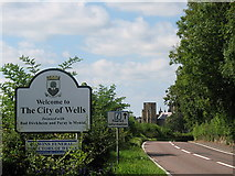 ST5545 : Welcome to Wells by Sharon Loxton