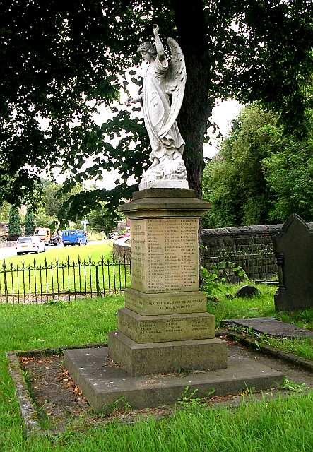 War Memorial - Vale Baptist Churchyard