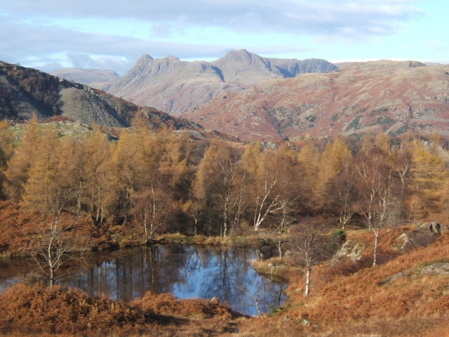Tarn near Holme Ground