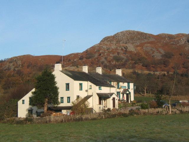 King George IV inn near Eskdale Green