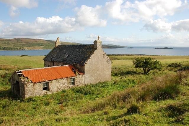 Deserted Farmhouse on Island of Danna
