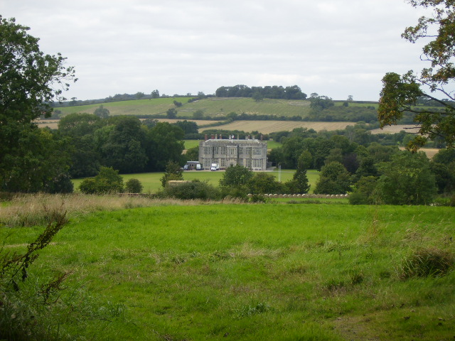 Howsham Hall seen from the road to Leavening