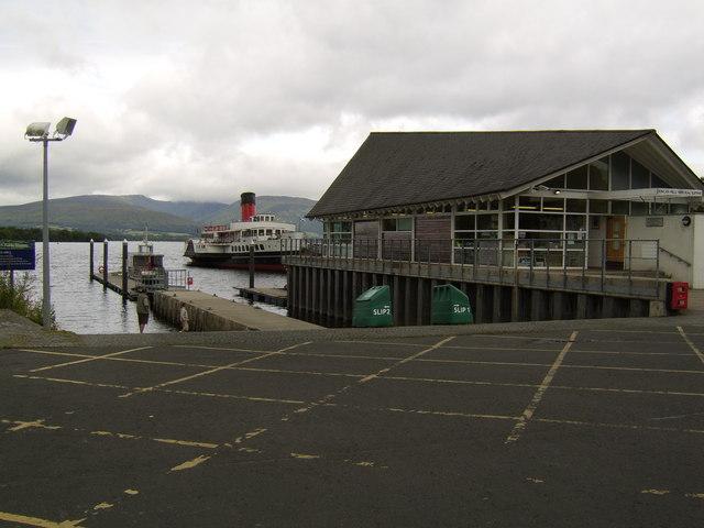 Duncan Mills Memorial Slipway, Balloch