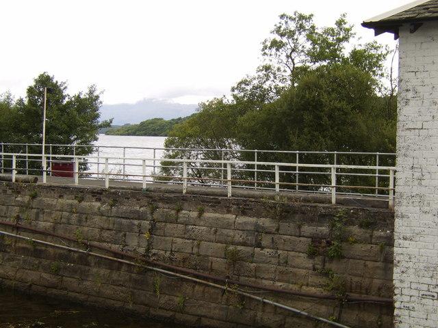 Maid of the Loch pier, Balloch