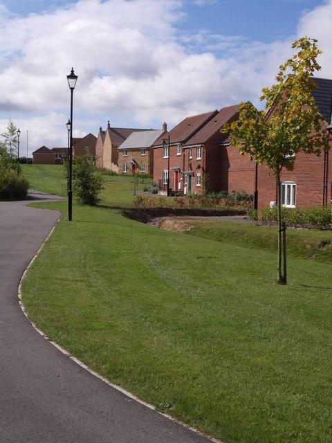 New estate at Yeovil
