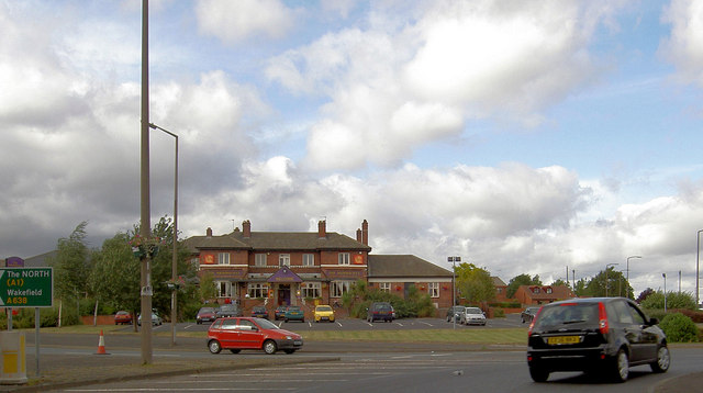 The Highwayman roundabout.