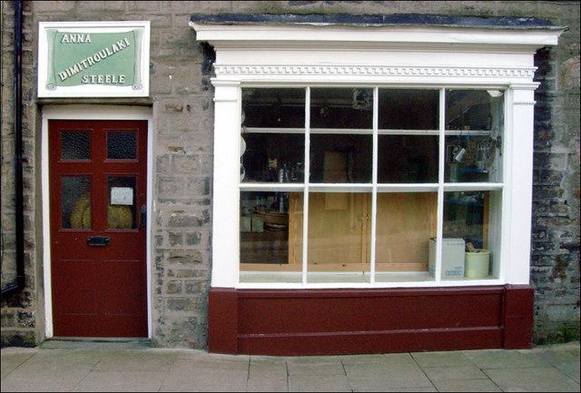 Shop front, Hawes