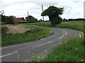 TG2933 : View south on B1145 from The Grove to Straithern Farm by Evelyn Simak