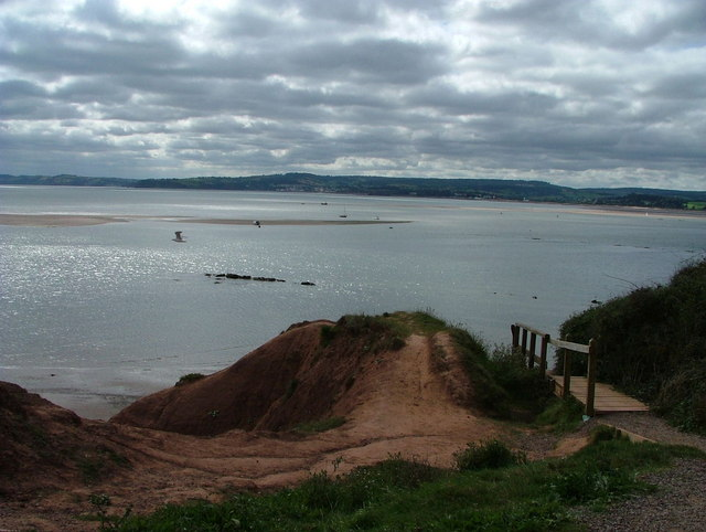 View across the Exe estuary from Rodney Point