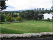 NS5463 : Bellahouston Park from 1938 Empire Exhibition Monument by Chris Wimbush