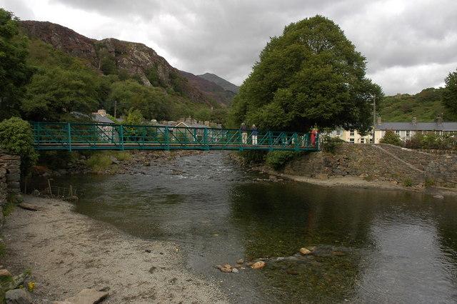 The Glaslyn Bridge, Beddgelert