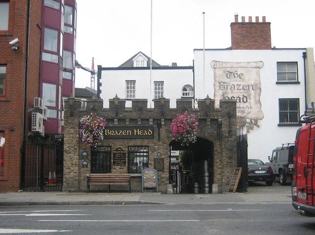 The Brazen Head, Lower Bridge Street, Dublin