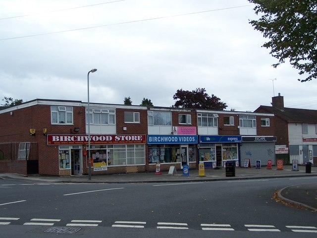 Birchwood road Shops.