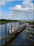 TA0623 : High Water at Barrow Haven by David Wright