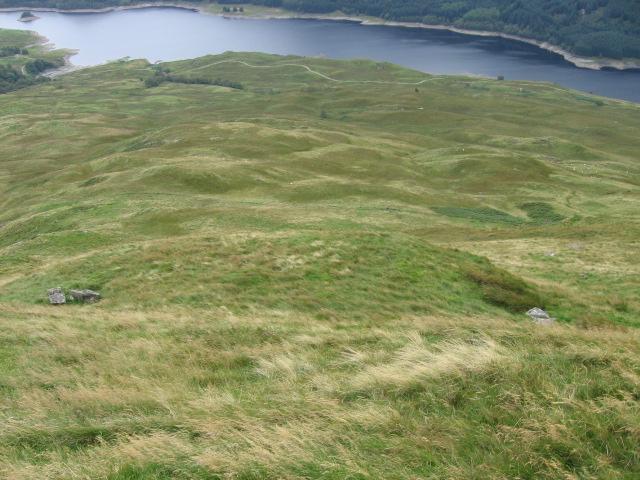 Hillside from Sron Achaidh na h-Airde