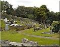 H1595 : Church of Ireland Cemetery Stranorlar by Kay Atherton