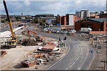 J3373 : The Westlink, Belfast (6) by Albert Bridge