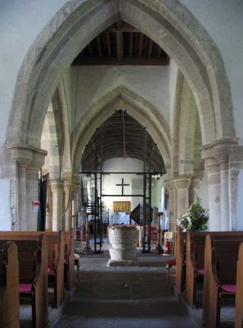St Illtud, Llantwit Major, Glamorgan, Wales - West end
