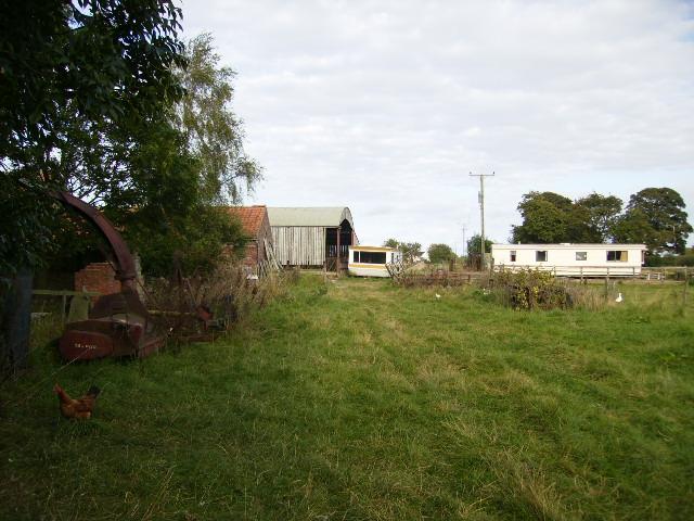 The back of Skelton Wath Farm