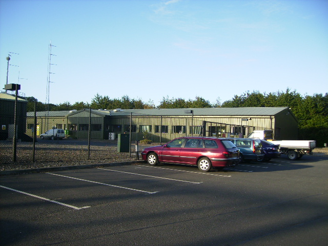 Operating centre for Knapton Power Station