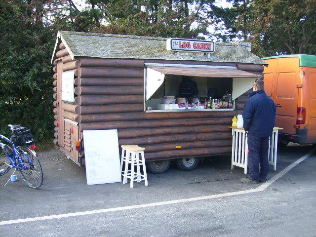 The Log Cabin Snack Bar at West Knapton