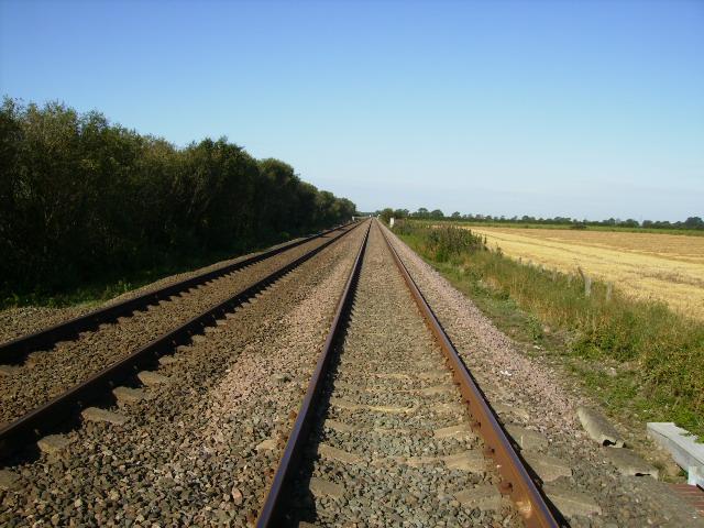 The York to Scarborough railway line